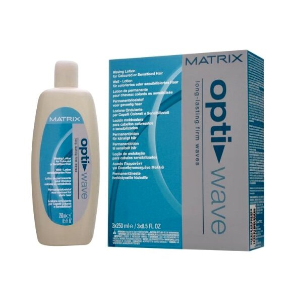 Matrix Optiwave für sensiblisiertes Haar 3 x 250 ml